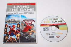 NINTENDO WII MARVEL ULTIMATE ALLIANCE TONY HAWK JAM HILL VIDEO GAME TRAILER DVD