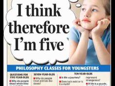 Philosophy Talk: Philosophy For Children