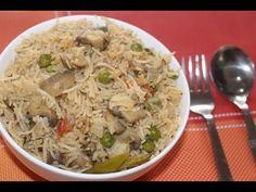 Mushroom Briyani - Indian Kitchen foods - YouTube