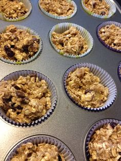Recipe Review: Healthy Breakfast Bar Substitute - Oatmeal Muffins
