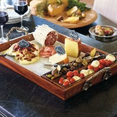 Tuscan Cheese Serving Tray Set