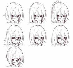 The anime is Koe no Katachi.) - The anime is Koe no Katachi. Manga Drawing Tutorials, Drawing Techniques, Art Tutorials, Drawing Tips, Painting Tutorials, Anime Drawings Sketches, Anime Sketch, Art Drawings, Drawing Faces
