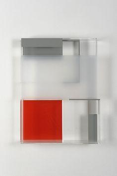 Maria Dukers, met de kleuren van de kaart BP, voor kubus vlak