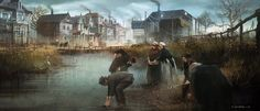 Rural Lambeth - Characters & Art - Assassin's Creed Syndicate