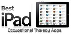 Occupational Therapy Apps - Re-pinned by @PediaStaff – Please Visit http://ht.ly/63sNt for all our pediatric therapy pins