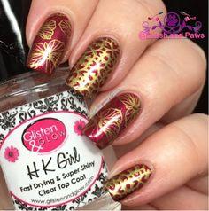 Nail Art ~ Bellaluna Cosmetics Fall Collection
