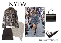 """Hot NYFW Runway Trend -- Contest"" by nfashx ❤ liked on Polyvore featuring Rebecca Minkoff, Simone Rocha, Meteo by Yves Salomon and Fendi"