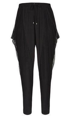 City Chic - URBAN HAREM PANT - Women's Plus Size Fashion