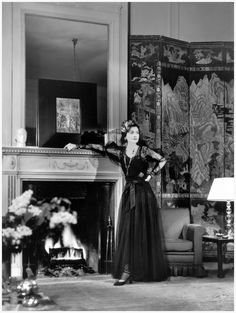 Gabrielle Chanel at the Ritz hotel in Paris 1937