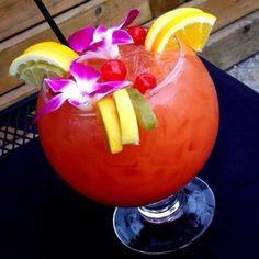 Bahama Mama! Favorite Alcoholic Beverage | http://smoothierecipesforgoodhealth.blogspot.com