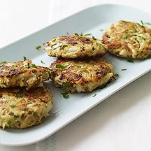Low point Weight Watchers recipe for crab cakes.  Made these for the fam for dinner and they were a hit!