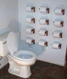 拭き放題のトイレ