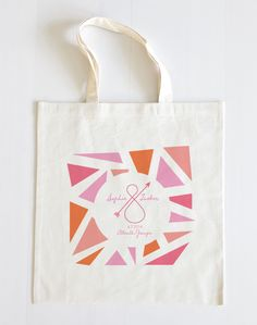 New $10 customized Kaleidoscope tote from Wedding Chicks. http://shop.weddingchicks.com/kaleidoscope-tote/