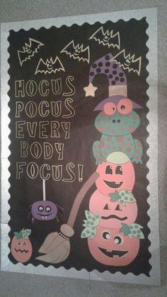 October Bulletin Boards, Halloween Bulletin Boards, Reading Bulletin Boards, Classroom Signs, Classroom Bulletin Boards, Classroom Walls, Future Classroom, Classroom Themes, Office Decorations