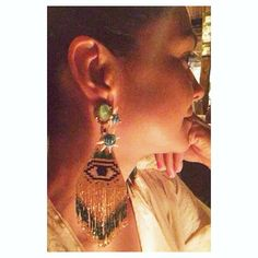 Night and day! Beautiful Floriana is Share your favorite KP by using the hashtag! To shop thise earrings link in our bio. Day For Night, Evil Eye, Drop Earrings, Link, Shopping, Beautiful, Jewelry, Women, Jewlery