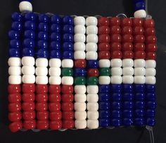 A personal favorite from my Etsy shop https://www.etsy.com/listing/387024788/dominican-pride-giant-flag-beaded