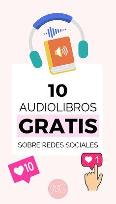 Aprende sobre mercadeo en redes sociales como instagram y facebook con esta lista de audio libros que podrás escuchar completamente gratis. Emprende y triunfa en Instagram, audio libros digitales de aprendizaje y superación. Aumenta tus conocimientos de forma gratuita. #redessociales #audible #audiolibro #superación