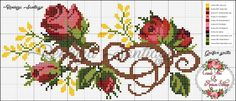 Diy Crafts - This post was discovered by Charlotte. Discover (and save!) your own Posts on Qoster. Cross Stitch Pillow, Cross Stitch Needles, Cross Stitch Heart, Cross Stitch Flowers, Cross Stitching, Cross Stitch Embroidery, Embroidery Patterns, Hand Embroidery, Bonnet Crochet