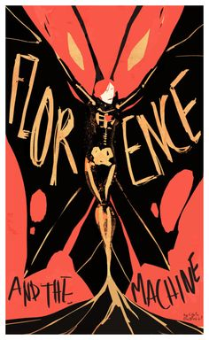 indie music poster design | Florence & The Machine | Tumblr