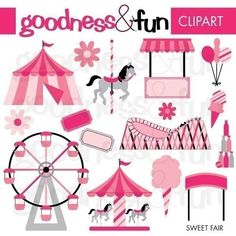 Buy 2 Get 1 FREE  Sweet Fair Digital Clipart  by goodnessandfun