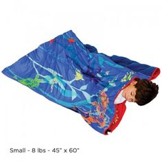 Weighted sleeping bag!  What a great idea from Fun and Function