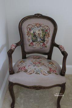 Wonderful Tapestry Chair. Www.blueeggbrownnest.com