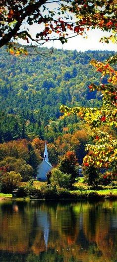 Want to see New England in the fall.Beautiful Eaton, New Hampshire Places Around The World, Oh The Places You'll Go, Places To Travel, Places To Visit, Around The Worlds, New Hampshire, Beautiful World, Beautiful Places, Wyoming