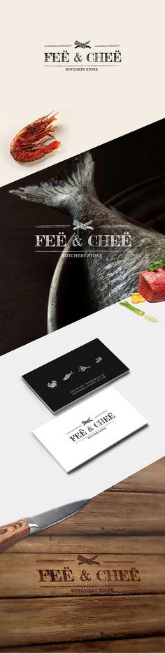 Fee & Chee | Butchery store on Behance