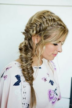7a103c7b7e3f7 French on top then fishtail Formal Hairstyles