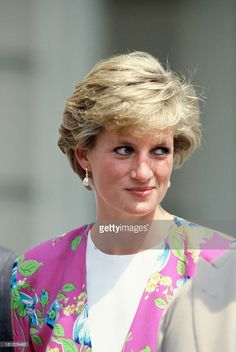 Diana, Princess of Wales, attends the Queen Mother's 90th Birthday outside Clarence House on August 4, 1990 in London, England.