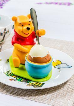 Cu un asemenea suport de ou, micuții vor savura tot, tot micul dejun! Breakfast, Food, Morning Coffee, Essen, Meals, Yemek, Eten