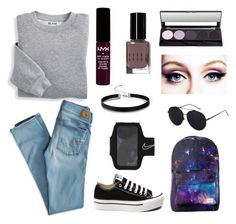 """""""Look's 2016"""" by beatifullife19 on Polyvore featuring мода, Blair, American Eagle Outfitters, Converse, NIKE, NYX, Bobbi Brown Cosmetics, bytretyakovaelena, looks_spring и looks_autumn"""
