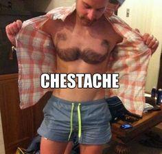 body mustache