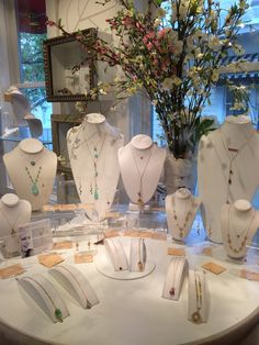 It got ugly outside but it stayed beautiful in here! Especially with all these Michelle Pressler jewels to keep us company!