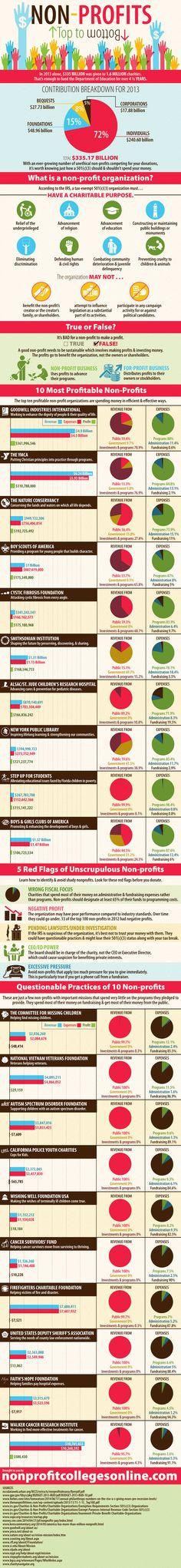 10 Most Profitable Non-Profits