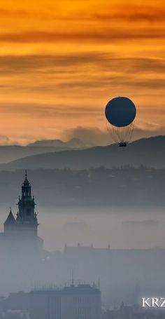 somewhere in Poland someone threw the moon at a castle!!