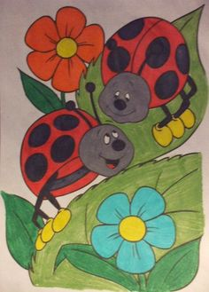 ladybugs by ~Jenilyn88 on deviantART