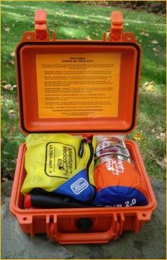 Survival Kit Pouch Plus Stainless Steel Knife by Survival Resources ** Want to know more, click on the image.