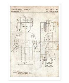 Look at this #zulilyfind! Toy Figure 1979 Parchment Art Print by Oliver Gal #zulilyfinds
