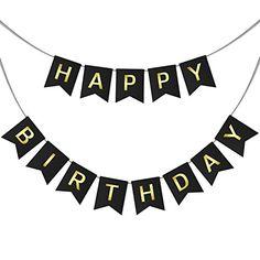 Happy Birthday Swallowtail Bunting Banner for Party Decor... https://www.amazon.com/dp/B01LXD0Z0J/ref=cm_sw_r_pi_dp_x_u6uHybRMH8V4N