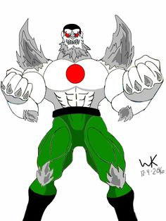 doomsday(dc comic)/bloodshot(valiant comic)