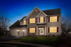 Does your home look as beautiful at twilight as 3801 Stonefield Circle York PA does?  http://realestateexposures.com - Real Estate Exposures