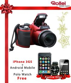 #Snapdealbestproducts http://www.snapdeal.com/product/rollei-210hd-camera-red/429392?pos=7;0