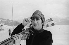 John Lennon at St Moritz, Switzerland, 1965