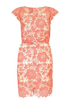 coral lace. Love!!