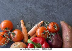 Raw organic vegetables with fresh ingredients for healthily cooking on natural background, top view, banner. Background layout with free text space. Natural Background, Free Text, Organic Vegetables, Top View, Food Design, Banner, Healthy Eating, Layout, Concept