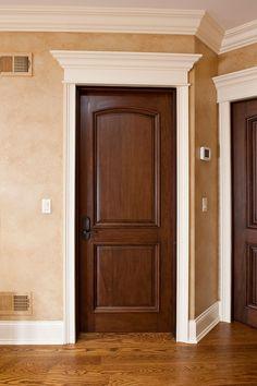 Wooden Doors Interior Door Custom Single Solid Wood With Walnut Interior Door Colors, Custom Interior Doors, Custom Wood Doors, Black Interior Doors, Interior Shop, Interior Design, Walnut Doors, Wood Entry Doors, Wooden Doors