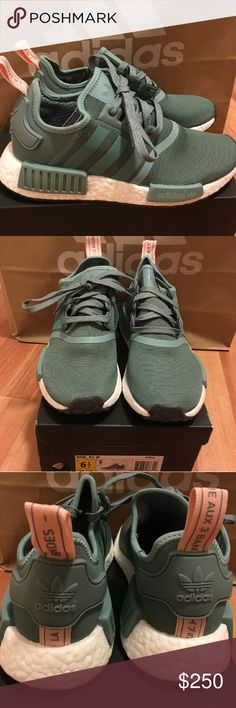 NEW WOMEN ADIDAS NMD R1 VAPOUR STEEL SIZE 6.5 Women size 6.5  Deadstock.  100% authentic.  Will be shipped with original box and protection box.  No trades.  Price is firm.  No returns for incorrect size, size is as described in description  Check out my account for more shoes and sizes!  Tags:Adidas, Jordan, Nike, retro, boost, Yeezy, ultra boost, prime knit, supreme, make up, contacts Adidas Shoes