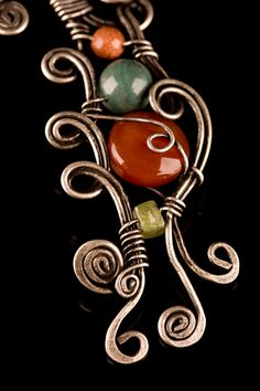 handmade copper jewelry by BeyhanAkman on Etsy