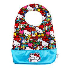 Ju-Ju-Be Be Neat in Hello Kitty Tick Tock - a reversible bib... It's stylish, with magnetic closure and easy to clean.